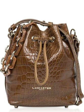 Lancaster Paris Exotic Croco Mini Bucket Bag