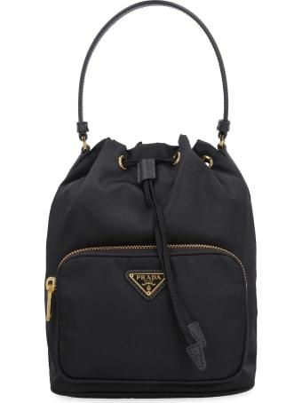 Prada Prada Duet Nylon Bucket Bag