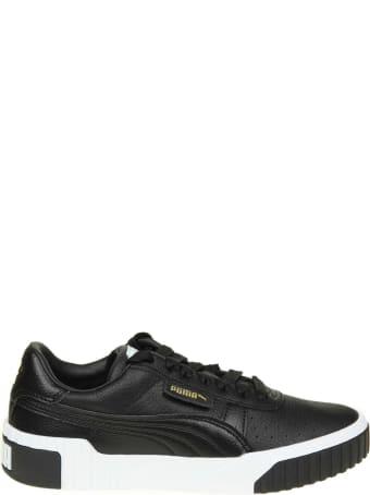 Puma Sneakers Cali In Black Leather