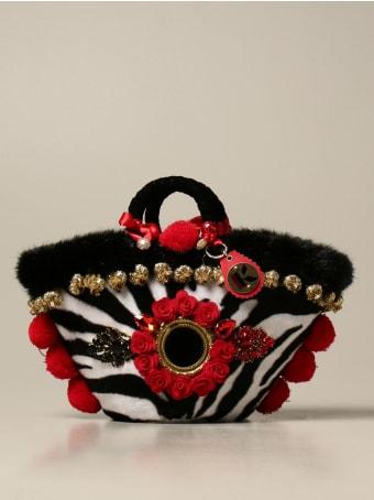 Sikuly Handbag Musa Sikuly Animalier Coffa Bag With Applications