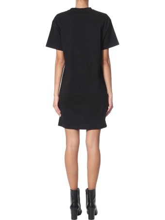 McQ Alexander McQueen Crew Neck Dress