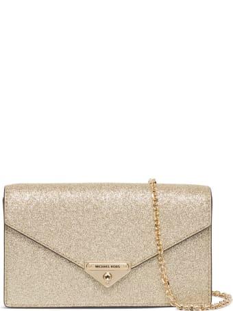 MICHAEL Michael Kors Gold-colored Glittered Soho Crossbody Bag