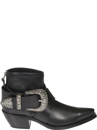 R13 Western Buckle Cowboy Boots