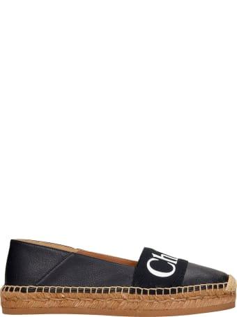 Chloé Espadrilles In Black Leather