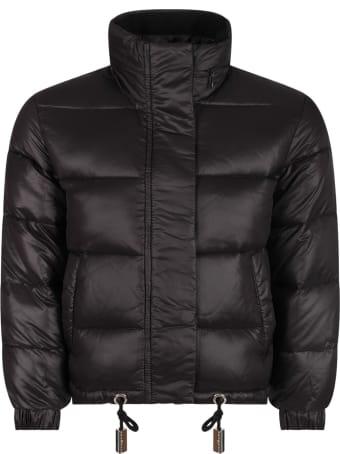 Richmond Black Girl Jacket With Black Logo
