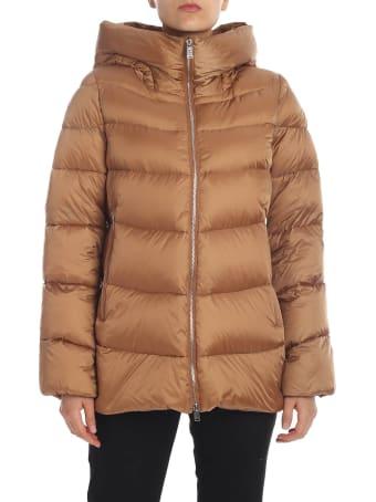 Add Large Hood Padded Jacket