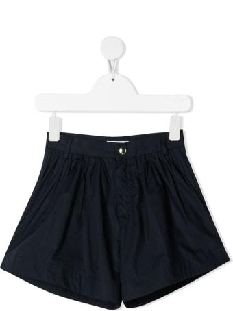Chloé Blue Cotton Shorts