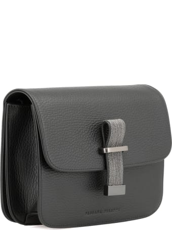 Fabiana Filippi Pebbled Leather Shoulder Bag