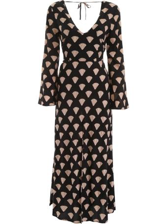 RIXO Printed Nora Dress