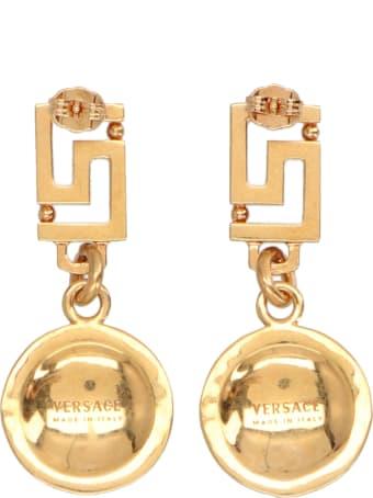 Versace 'medusa' Earrings