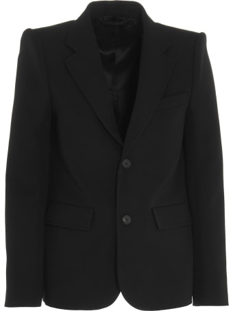 Balenciaga 'curve Shoulder' Blazer