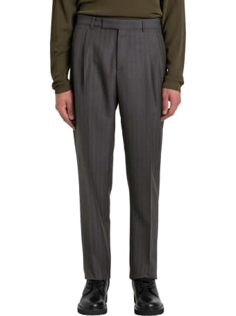Dior Homme High-rise Pinstriped Trousers