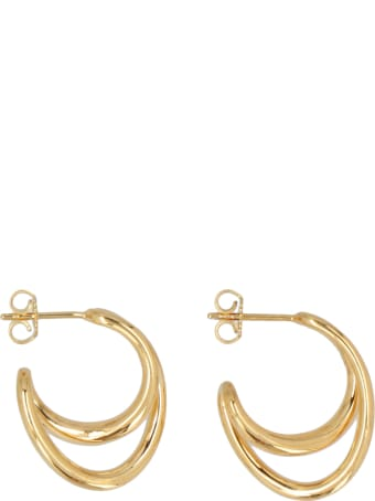 Charlotte Chesnais 'mini Initial Hoop' Earrings