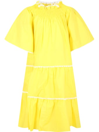 Tia Cibani Yellow Dress For Girl