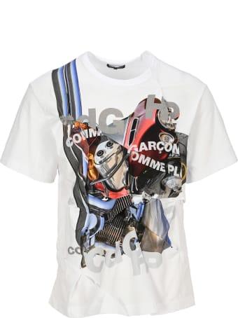 Comme Des Garçons Homme Plus Comme Des Garcons Homme Plus Graphic-print T-shirt