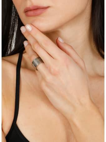 Maison Margiela Silver Band Ring