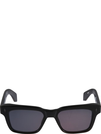 Jacques Marie Mage Logo Detail Tinted Sunglasses