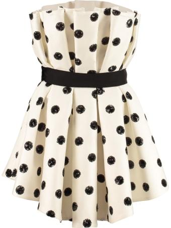 Giuseppe di Morabito Polka-dot Corset Dress