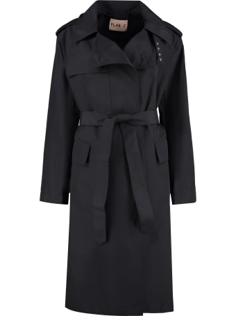 Plan C Nylon Trench Coat