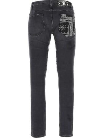 Alchemist Black Cotton-blend Jeans