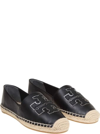 Tory Burch Espadrillas Ines In Nappa Color Black