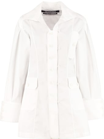 Jacquemus Roman Cotton Shirtdress