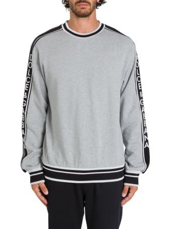Dolce & Gabbana Logo Taping Sweatshirt