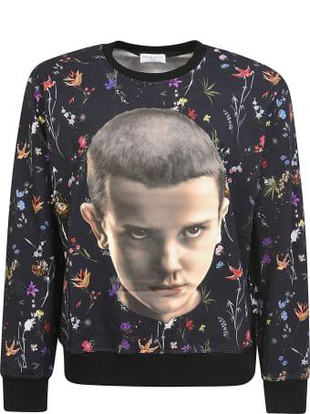 ih nom uh nit Bf Print Sweatshirt