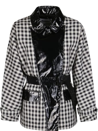 Barbour Ivy Pvc Panelled Gingham Coat