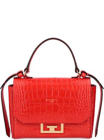 Givenchy Eden Crocodile Print Leather Mini-bag