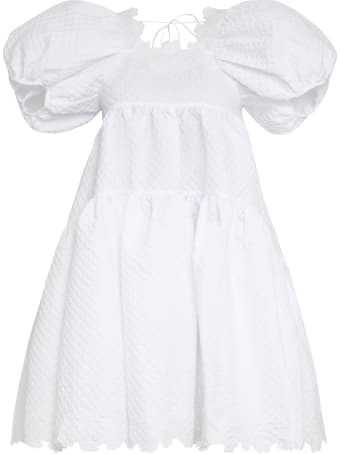 Cecilie Bahnsen Karen Embossed-fabric Dress