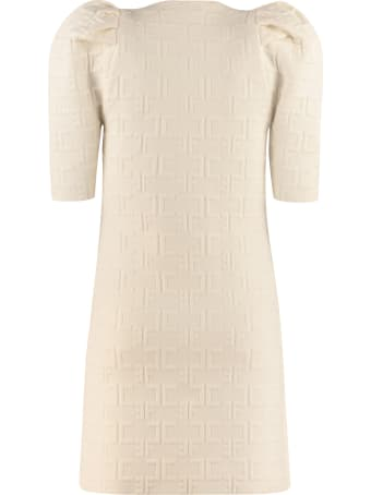 Elisabetta Franchi Celyn B. Jacquard Knit Mini-dress