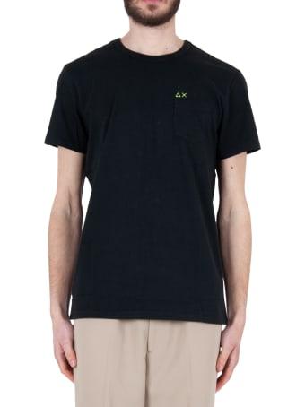 Sun 68 Round Solid Pocket T-shirt