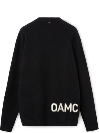 OAMC Black Wool Blend Jumper