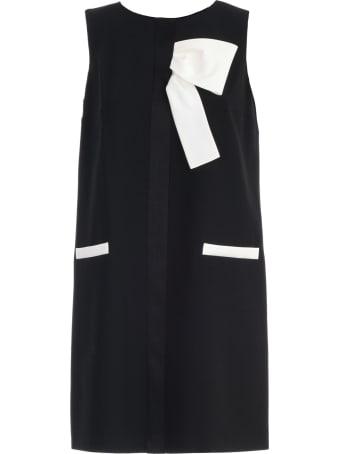 Paule Ka Dress W/s W/knot