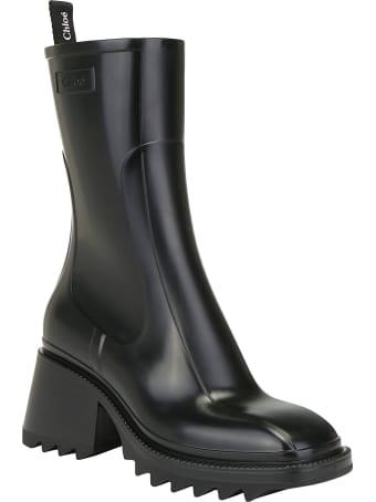 Chloé Betty Rain Boot In Pvc