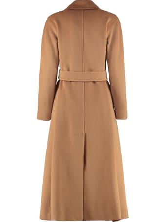 Max Mara Studio Didone Wool Long Coat
