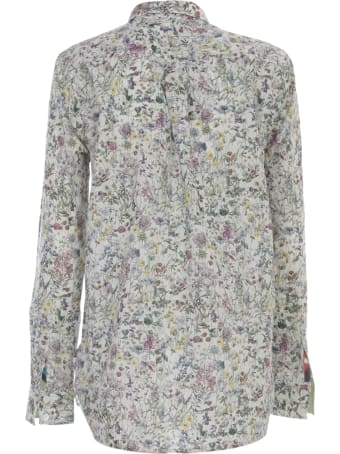 Paul Smith Shirt L/s Flowers Multicolour