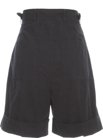 Aspesi Shorts W/lapel And Pences