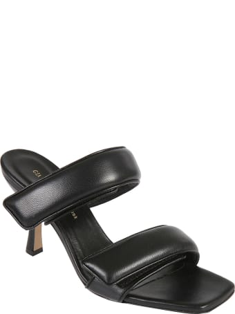 Gia X Pernille Teisbaek Double Velcro Strap High Heel Sandals