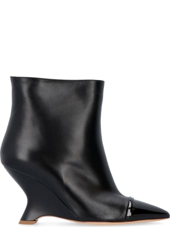 Malone Souliers Dita Leather Ankle Boots