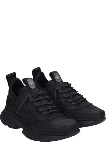 Bruno Bordese Sneakers In Black Leather