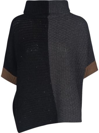 Lorena Antoniazzi Contrast Color Knit Jumper
