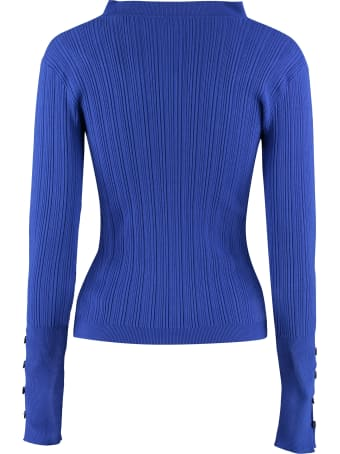 Jacquemus Ribbed Pullover With Buttons