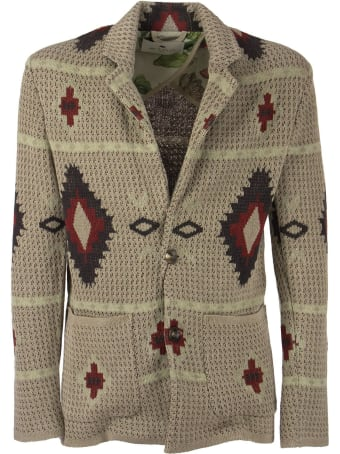 Etro Linen Knit Jacket