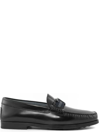 Tod's Black City Gommino Driving Shoes