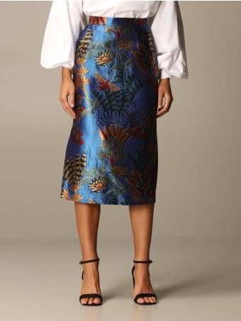 Stella Jean Skirt Stella Jean Brocade Pencil Skirt