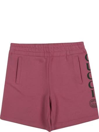 Gucci Bermuda Logo Shorts