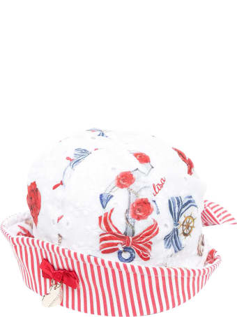 Monnalisa White Hat