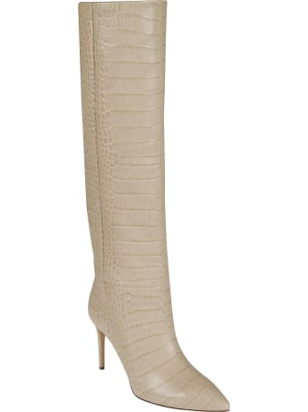 Paris Texas Embossed Croco Stiletto Boots